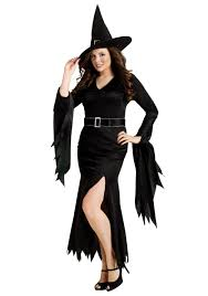 flapper halloween costumes for womens plus gothic witch costume