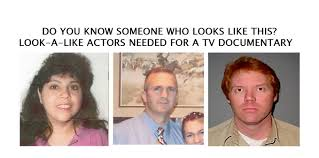 Seeking Tv Series Canada Urgent Seeking Look A Like Actors For A Tv Documentary Paid
