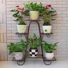 porta maceta en hierro flower s pinterest plant holders