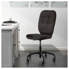 Ikea Office Swivel Chair Lillhöjden Swivel Chair Idemo Black Ikea