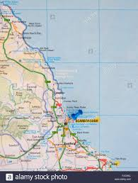 map of ta bay road map of the east coast of showing robin hoods bay and
