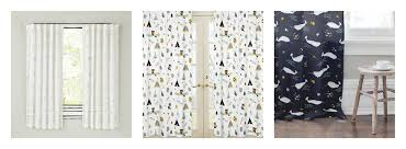 Nursery Curtain Panels by Curtains Creative Land Of Nod Curtains For Your Window Decor