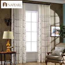 high quality embroidered linen curtains buy cheap embroidered