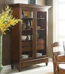 Wooden Cabinet With Glass Doors Ikea Effektiv Wooden Storage Cabinet On Wheels With Shelves