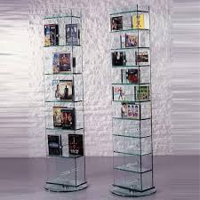 cd turm glass concept new york cd dvd glasregal bei hifi tv moebel de