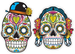 free temporary sugar skull tattoos masks local