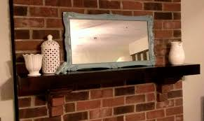 Mirrors On The Ceiling by Two Broke Wives Mirror Mirror On The Mantle