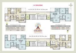 Tenement Floor Plan by Akshay Heights Rr Lunkad Builders And Promoters
