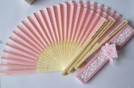 fan wedding favors 270 pcs personalized wedding favors and gifts for guest silk fan