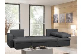 canapé d angle bois canapé d angle convertible 5 places tissu gris foncé liberty design
