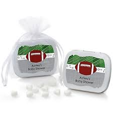 football favors end zone football baby shower decorations theme