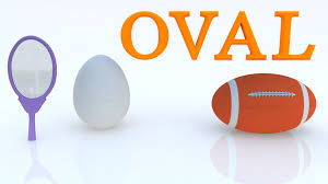 learn shapes for kids oval and objects in oval shape learn to