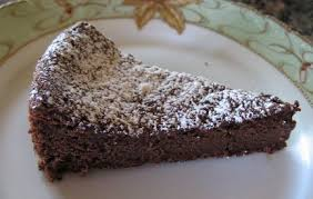 flourless chocolate cake recipe whats cooking america
