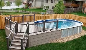 Backyard Above Ground Pool Ideas Top 95 Diy Above Ground Pool Ideas On A Budget U2014 Fres Hoom