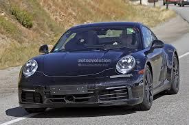 porsche 911 dashboard spyshots 2019 porsche 911 reveals digital dashboard with analog