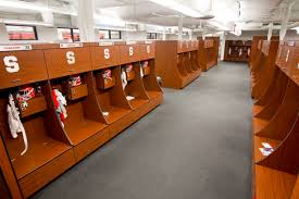 syracuse university syracuse football locker room pinterest