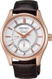 seiko presage curve sapphire glass with manual self winding see