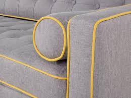 3er sofa grau sofa grau sitzgruppe 3er sofa designersofa