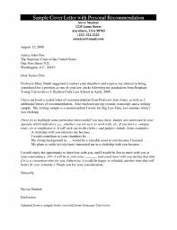 free letters of recommendation template recommendation cover letter