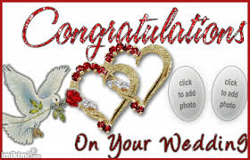 congratulations on your wedding day congratulations on your wedding imikimi