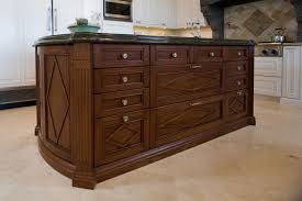 mahogany kitchen island custom kitchen cabinetry feist cabinets and woodworks inc