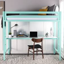 Bunk Beds With Desk Underneath Ikea Teal Desk Underneath Bunk With Beautiful Beds That Offer