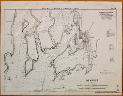 Map Of Newport Oregon by Newport R I Eldridge Nautical Chart Antique Maps And Charts