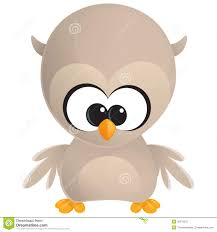 cute cartoon baby owl stock photo image 30279370
