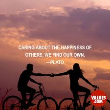 Plato Quotes About Love by Caring About The Happiness Of Others We Find Our Own U201d U2014plato