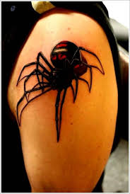 3d spider tattoo art and designs page 4