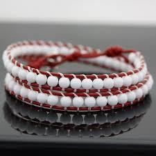 wrap bracelet with beads images Leather wrap bracelet kits bead world online bead store jpg