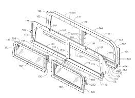 humvee drawing patent us8066319 vehicle emergency egress assembly google patents
