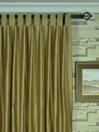 moonbay narrow stripe grommet cotton extra long curtains 108 120