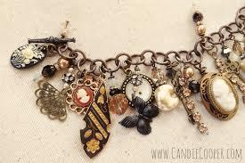 themed charm bracelet 1920s themed charm bracelet candie cooper