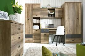 clever storage ideas for small bedrooms stained mahagony wood