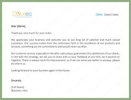 customer thank you letter 5 best sles and templates