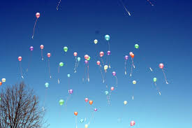 balloons that float high inflation the rising heights of balloons a moment of