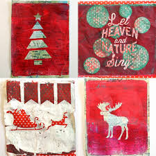 Handmade Gift Wrapping Paper - gelli prints turned into handmade gift wrapping paper hazel