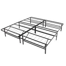 king foldable metal bed frame black u2013 best choice products