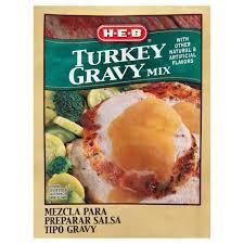 turkey gravy mix h e b turkey gravy shop gravy and sauce mix at heb