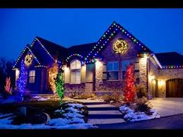 putting up christmas lights business outdoor holiday lighting christmas light business youtube