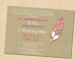 blessing invitation baby blessing invitation wording brianca designs