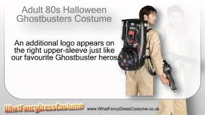 80s halloween ghostbusters costume youtube
