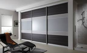 Modern Fitted Bedrooms - fitted wardrobes with sliding doors design ideas for bedroom