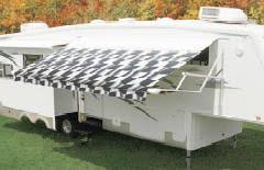 Replacement Awnings For Rvs Carefree Checkered Flag 16 U0027 Awning Replacement Fabric