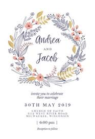 bridal invitation templates wedding invitation templates free greetings island