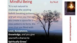 quotes about karma not existing mindfulness training methodology exercises tools