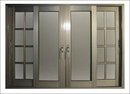 Exterior Aluminum Doors Aluminum Front Door Comfortable Exterior Aluminum Doors Interior