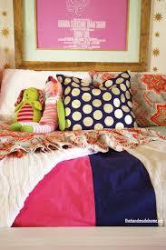 Duvet Cover Diy Diy Striped Bedding