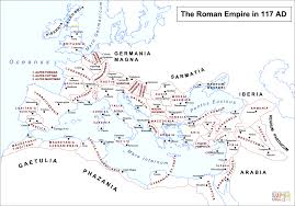 Roman Map Roman Empire Map Coloring Page Free Printable Coloring Pages